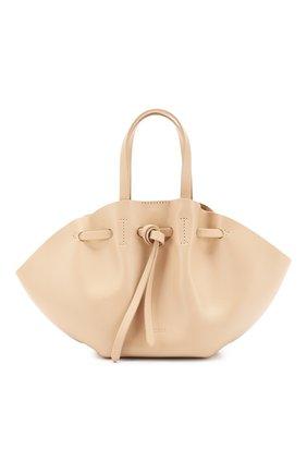 Женская сумка lynne mini NANUSHKA кремвого цвета, арт. MINI LYNNE_S0IA_LEATHER | Фото 1