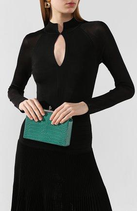 Женская сумка luxy GU_DE зеленого цвета, арт. G020SM009 | Фото 2