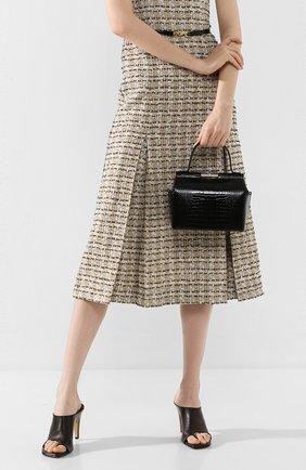 Женская сумка chord GU_DE черного цвета, арт. G020SMCL022 | Фото 2