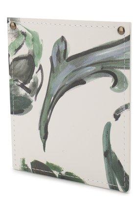Женский кожаный футляр le porte poche для кредитных карт  JACQUEMUS зеленого цвета, арт. 205AC20/5853S | Фото 2
