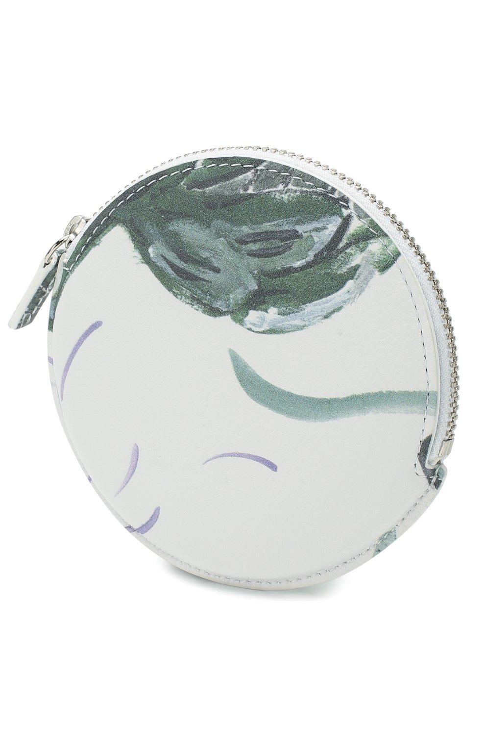 Женские кожаный кошелек для монет le pitchou JACQUEMUS зеленого цвета, арт. 205AC22/5853S | Фото 2