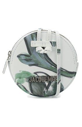 Женские кожаный кошелек для монет le pitchou JACQUEMUS зеленого цвета, арт. 205AC22/5853S | Фото 4