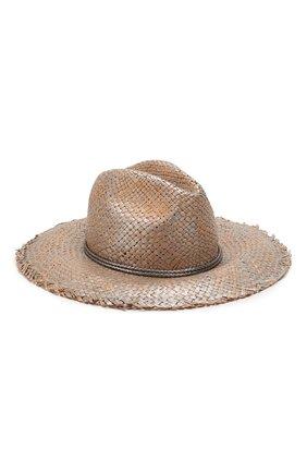 Женская шляпа BRUNELLO CUCINELLI серебряного цвета, арт. MCAP90119   Фото 1