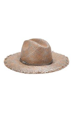 Женская шляпа BRUNELLO CUCINELLI серебряного цвета, арт. MCAP90119   Фото 2