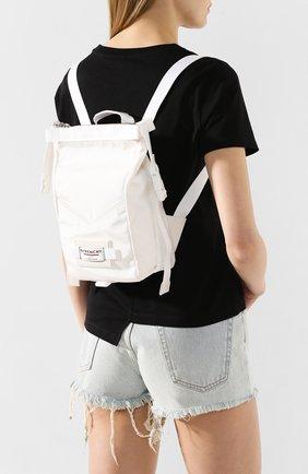 Женский рюкзак downtown mini GIVENCHY белого цвета, арт. BB50BNB0RT | Фото 2
