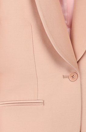 Детский костюм из жакета и брюк STELLA MCCARTNEY светло-розового цвета, арт. 600183/S0KF1 | Фото 4