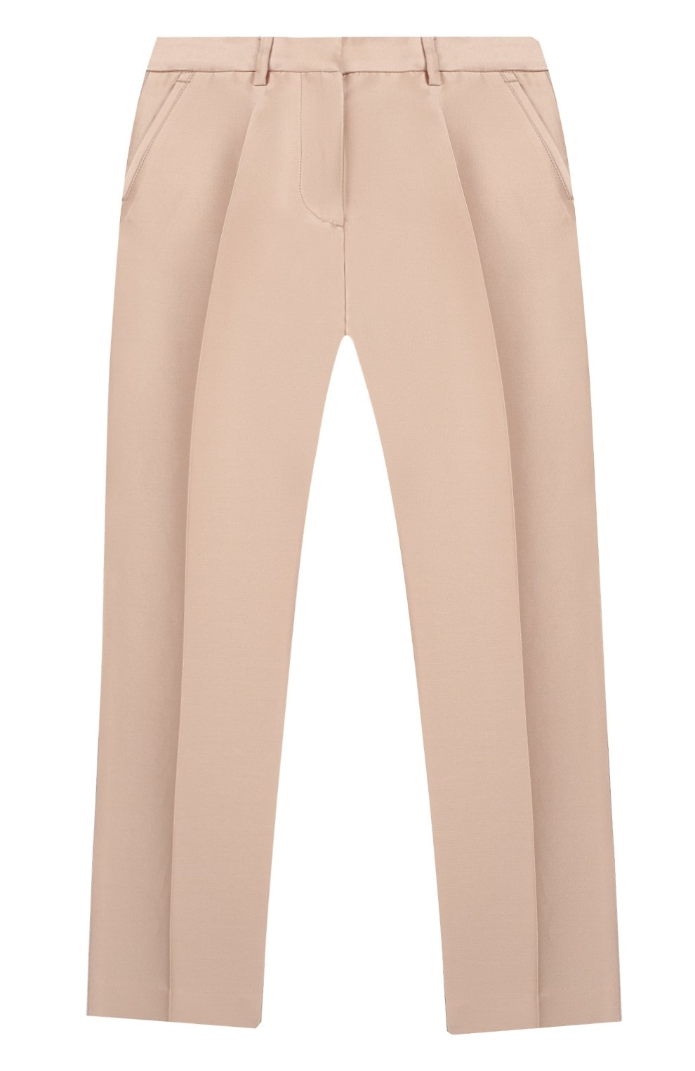 Детский костюм из жакета и брюк STELLA MCCARTNEY светло-розового цвета, арт. 600183/S0KF1 | Фото 5