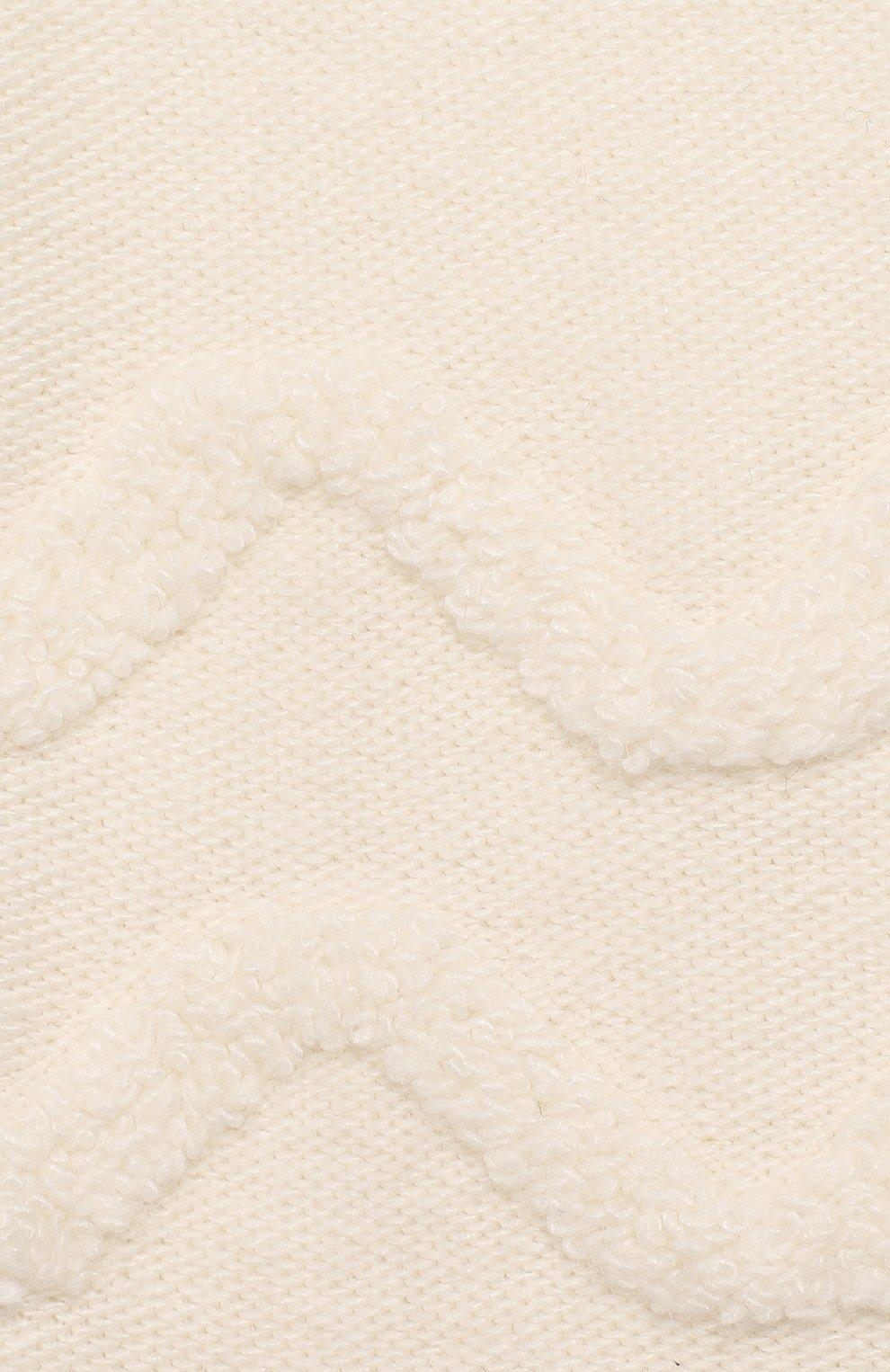 Детского комплект из 4-х предметов CHEPE белого цвета, арт. 371630 | Фото 10