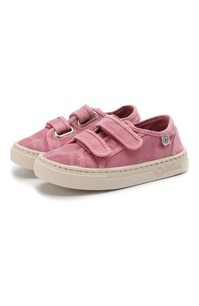 Детские кеды NATURAL WORLD розового цвета, арт. 6471E | Фото 1