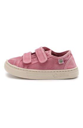 Детские кеды NATURAL WORLD розового цвета, арт. 6471E | Фото 2