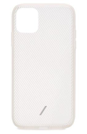 Мужской чехол для iphone 11 NATIVE UNION прозрачного цвета, арт. CVIEW-FRO-NP19M | Фото 1