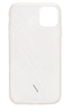 Мужской чехол для iphone 11 NATIVE UNION прозрачного цвета, арт. CVIEW-FRO-NP19M | Фото 2