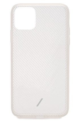 Мужской чехол для iphone 11 pro max NATIVE UNION прозрачного цвета, арт. CVIEW-FRO-NP19L | Фото 1