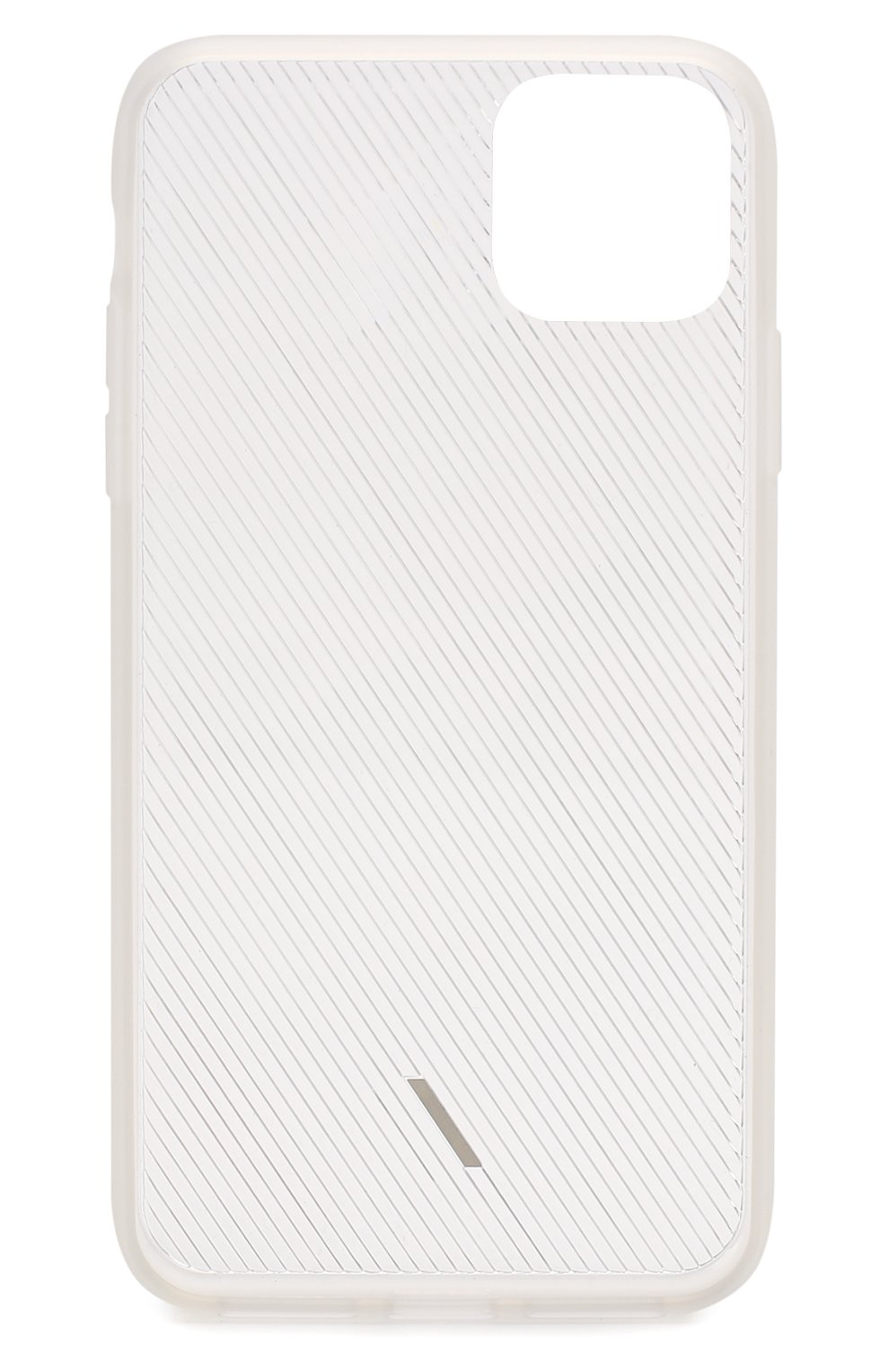 Мужской чехол для iphone 11 pro max NATIVE UNION прозрачного цвета, арт. CVIEW-FRO-NP19L   Фото 2