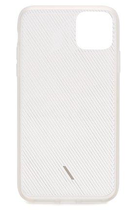 Мужской чехол для iphone 11 pro max NATIVE UNION прозрачного цвета, арт. CVIEW-FRO-NP19L | Фото 2
