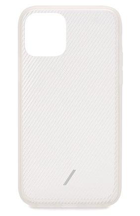 Мужской чехол для iphone 11 pro NATIVE UNION прозрачного цвета, арт. CVIEW-FRO-NP19S | Фото 1