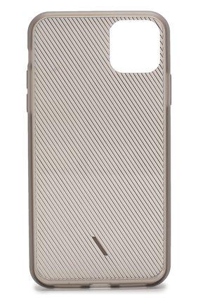 Мужской чехол для iphone 11 pro max NATIVE UNION прозрачного цвета, арт. CVIEW-SMO-NP19L   Фото 2