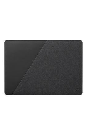 "Мужской чехол для macbook 15/16"" NATIVE UNION серого цвета, арт. STOW-MBS-GRY-FB-16 | Фото 1"