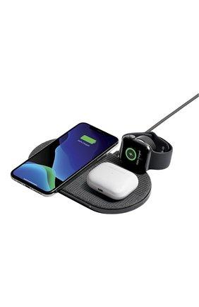 Мужская беспроводное зарядное устройство drop xl watch edition NATIVE UNION серого цвета, арт. DROP-XL-GRY-AW-UEU | Фото 1