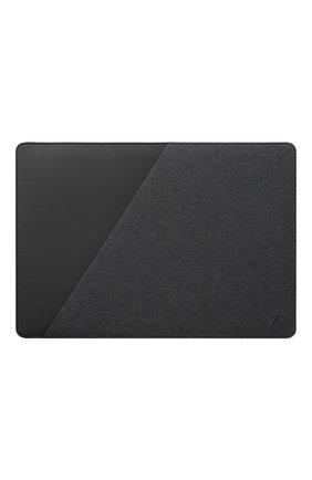 "Мужской чехол для macbook 13"" NATIVE UNION серого цвета, арт. STOW-MBS-GRY-FB-13 | Фото 1"