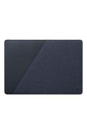 "Чехол stow для macbook pro 15"" NATIVE UNION синего цвета, арт. STOW-MBS-IND-FB-16 | Фото 1"
