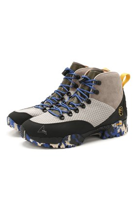 Мужские комбинированные кроссовки roa x braindead andreas ROA разноцветного цвета, арт. VAR517 | Фото 1