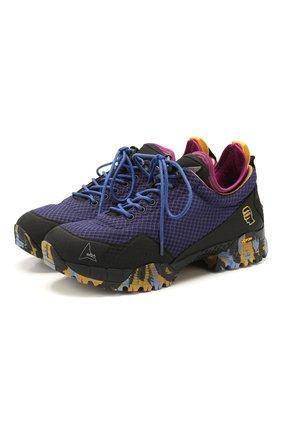 Мужские комбинированные кроссовки roa x braindead neal ROA фиолетового цвета, арт. VAR518 | Фото 1