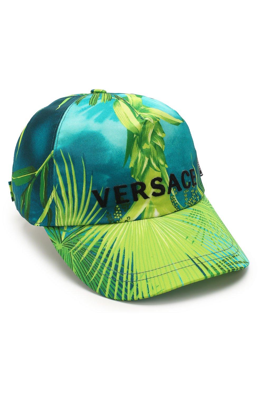 Мужской бейсболка VERSACE зеленого цвета, арт. ICAP004/A234748 | Фото 1