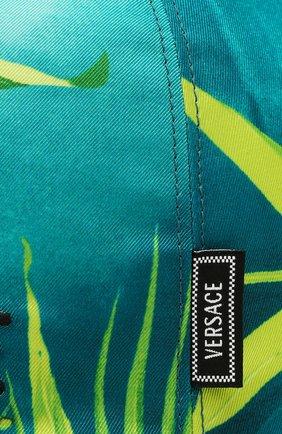 Мужской бейсболка VERSACE зеленого цвета, арт. ICAP004/A234748 | Фото 3