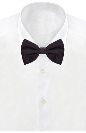 Мужской шелковый галстук-бабочка CORNELIANI фиолетового цвета, арт. 85U308-0120300/00 | Фото 2