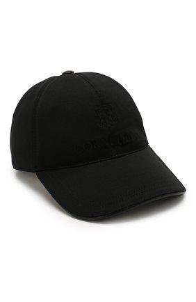 Мужской бейсболка CORNELIANI черного цвета, арт. 850332-0129213/00 | Фото 1