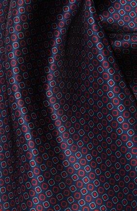 Мужской шелковый платок CORNELIANI фиолетового цвета, арт. 85UF27-0120397/00 | Фото 2