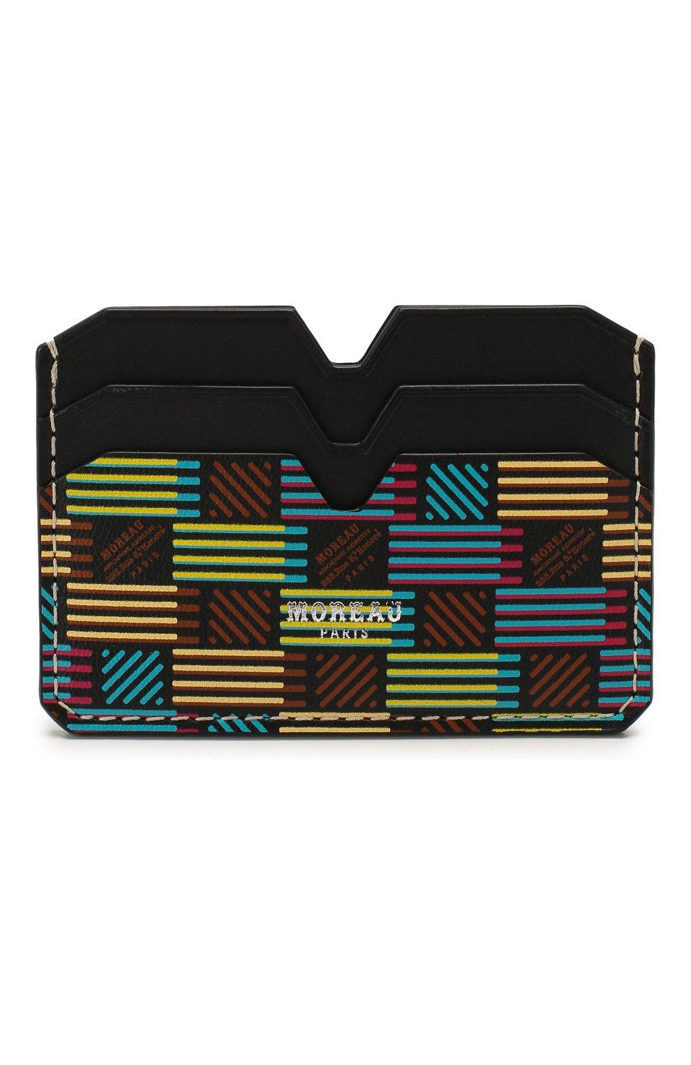 Мужской кожаный футляр для кредитных карт MOREAU разноцветного цвета, арт. PW4C01BHV0MULTCE | Фото 1