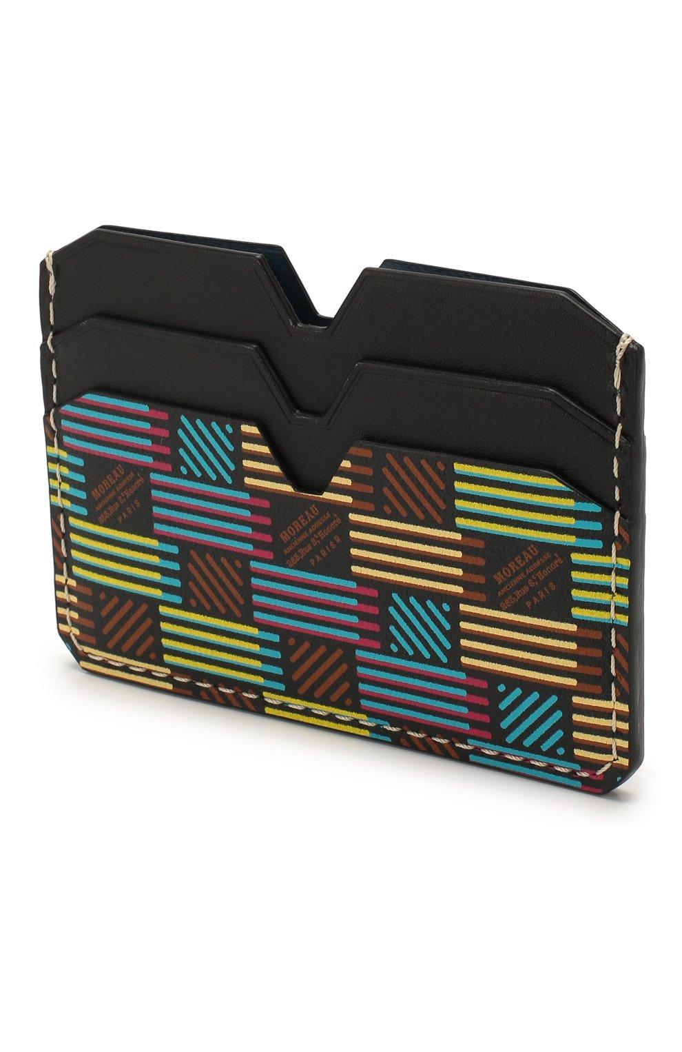Мужской кожаный футляр для кредитных карт MOREAU разноцветного цвета, арт. PW4C01BHV0MULTCE | Фото 2
