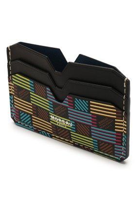 Мужской кожаный футляр для кредитных карт MOREAU разноцветного цвета, арт. PW4C01BHV0MULTCE | Фото 3