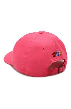 Мужской хлопковая бейсболка BAPE розового цвета, арт. 1G30180018 | Фото 2