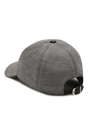 Мужской бейсболка CORNELIANI серого цвета, арт. 850332-0129213/00 | Фото 2