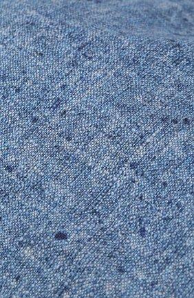 Мужская кепи из смеси шелка и шерсти CORNELIANI синего цвета, арт. 850338-0129241/00   Фото 3