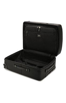 Мужской дорожный чемодан SERAPIAN черного цвета, арт. SSTEPMTR7064M55B | Фото 3
