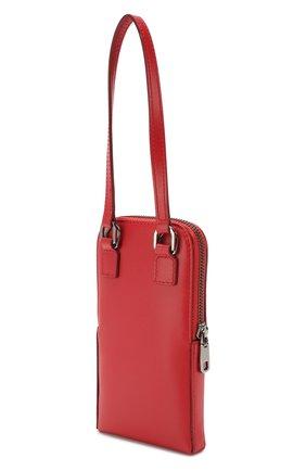 Мужского кожаный чехол для iphone DOLCE & GABBANA красного цвета, арт. BP2575/AJ806 | Фото 2
