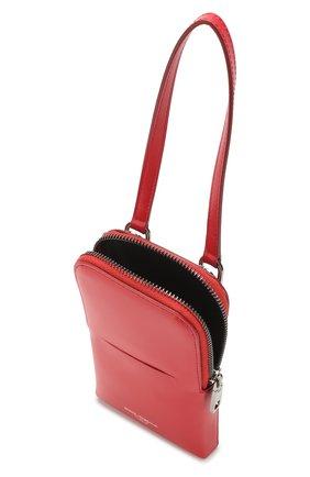 Мужского кожаный чехол для iphone DOLCE & GABBANA красного цвета, арт. BP2575/AJ806 | Фото 3