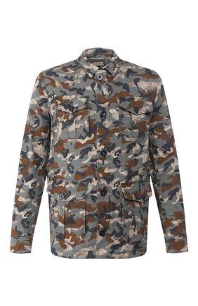 Мужская куртка GIMO'S хаки цвета, арт. 20PE.U.580.252 | Фото 1