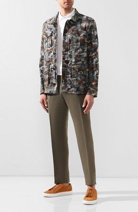 Мужская куртка GIMO'S хаки цвета, арт. 20PE.U.580.252 | Фото 2