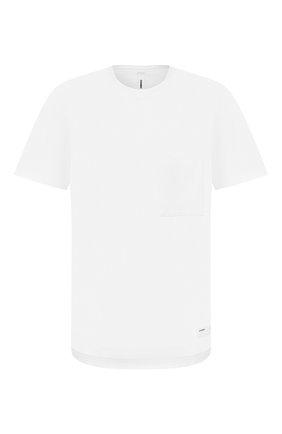 Мужская хлопковая футболка KAZUYUKI KUMAGAI белого цвета, арт. AJ01-217 | Фото 1