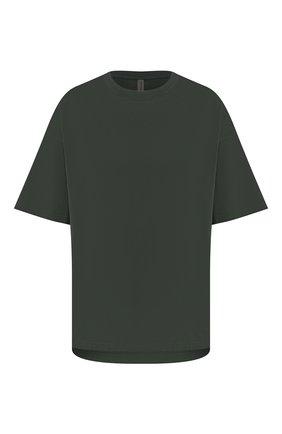 Мужская хлопковая футболка KAZUYUKI KUMAGAI зеленого цвета, арт. KJ01-021 | Фото 1