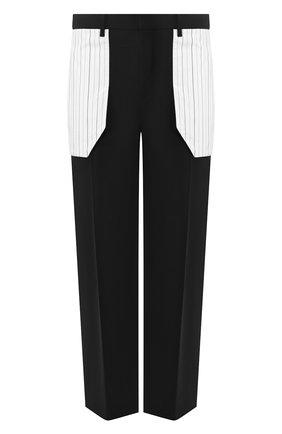 Мужской брюки NEIL BARRETT черного цвета, арт. BPA774C/N116C | Фото 1