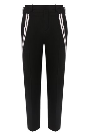 Мужской брюки NEIL BARRETT черного цвета, арт. BPA776A/N076 | Фото 1