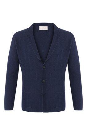 Мужской пиджак из смеси льна и хлопка ALTEA темно-синего цвета, арт. 2051237   Фото 1