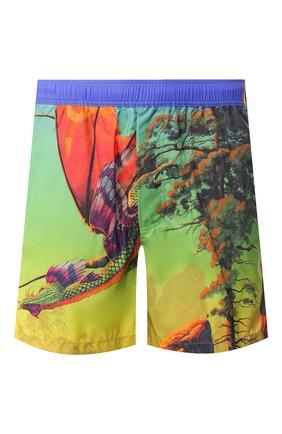 Детского плавки-шорты VALENTINO разноцветного цвета, арт. TV0UH028689 | Фото 1