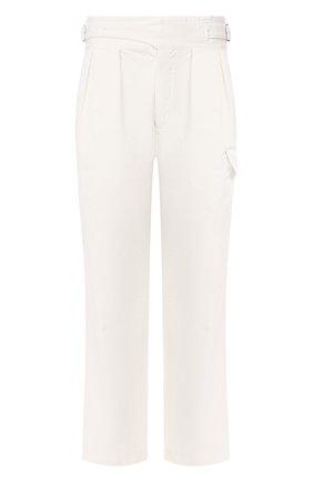 Мужские хлопковые брюки RALPH LAUREN белого цвета, арт. 790787186 | Фото 1